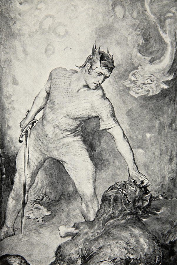 beowulf the idea of a hero Also, beowulf is most commonly described as an epic poem the label makes its main character, beowulf, an epic-hero by virtue of being a hero, beowulf is set-apart from the society presented in the heroic epic.