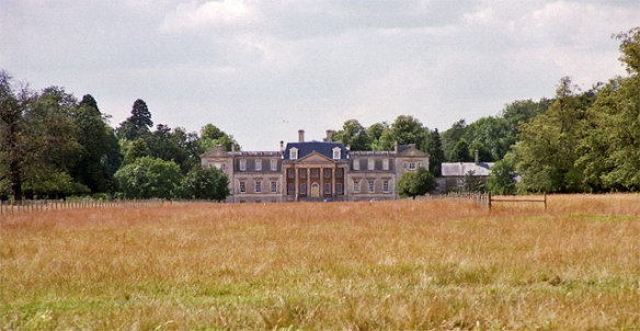 The east front of Biggin Hall, near Oundle, Northamptonshire. Mansfield Park was 'a spacious modern-built house . . . well-placed and well screened.'